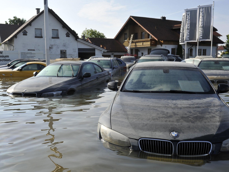 Schäden durch Unwetter bereiten den Österreichern große Sorgen.
