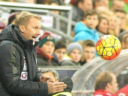 Austria-Trainer Fink fordert Punkte