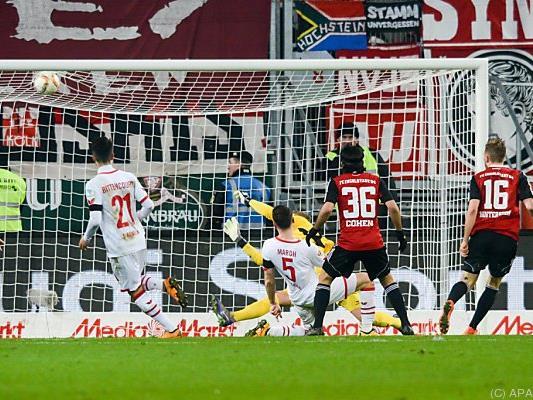 Lukas Hinterseer traf zum 1:0