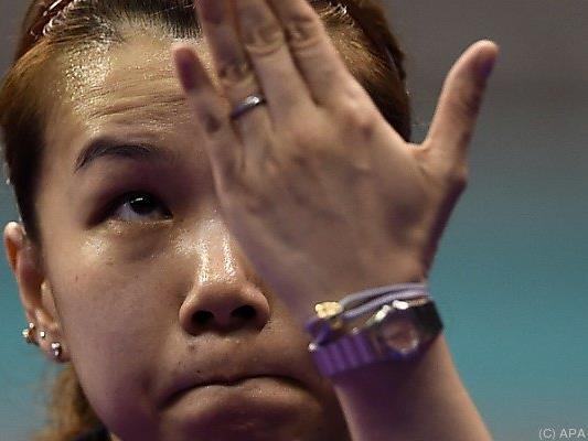 Li Qiangbing konnte Matchball nicht nutzen