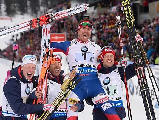 Gold ging überlegen an Gastgeber Norwegen