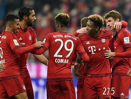 Bayern jubelten fünf Mal, es hätte auch öfter sein können
