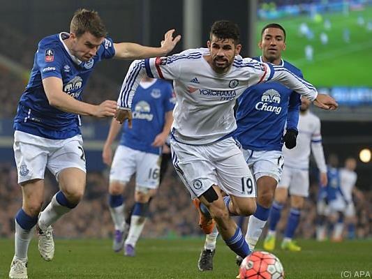 Chelsea verlor im FA-Cup-Viertelfinale 0:2 bei Everton
