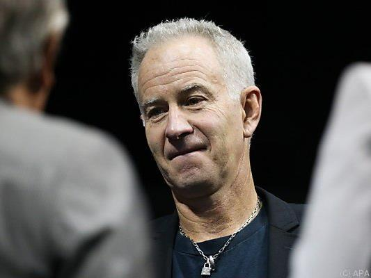 John McEnroe teilte wieder mal aus