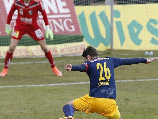 Salzburg tat sich gegen Wolfsberg schwer