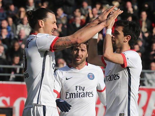 Ibrahimovic traf viermal gegen Troyes