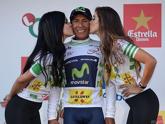 Quintana wehrte Angriffe von Contador und Froome ab