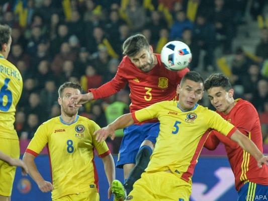 Spanien mangelte es in Rumänien an Ideen und Spielwitz