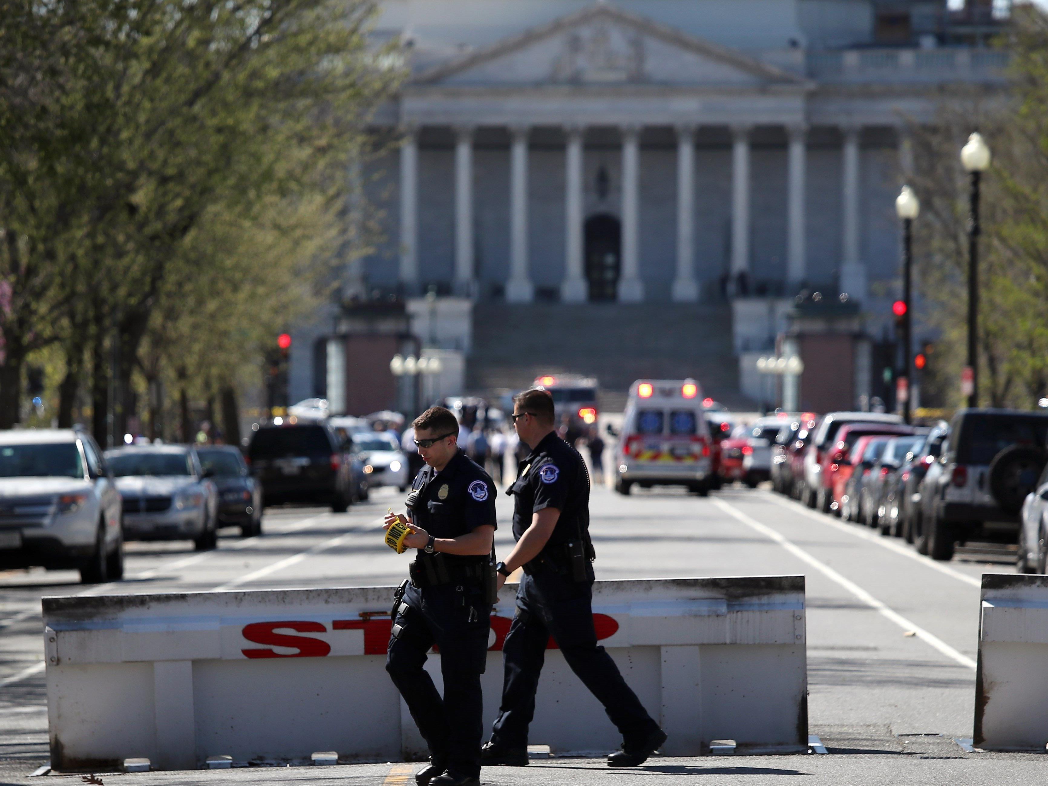 Schüsse in Washington: Weißes Haus und Kongress abgeriegelt