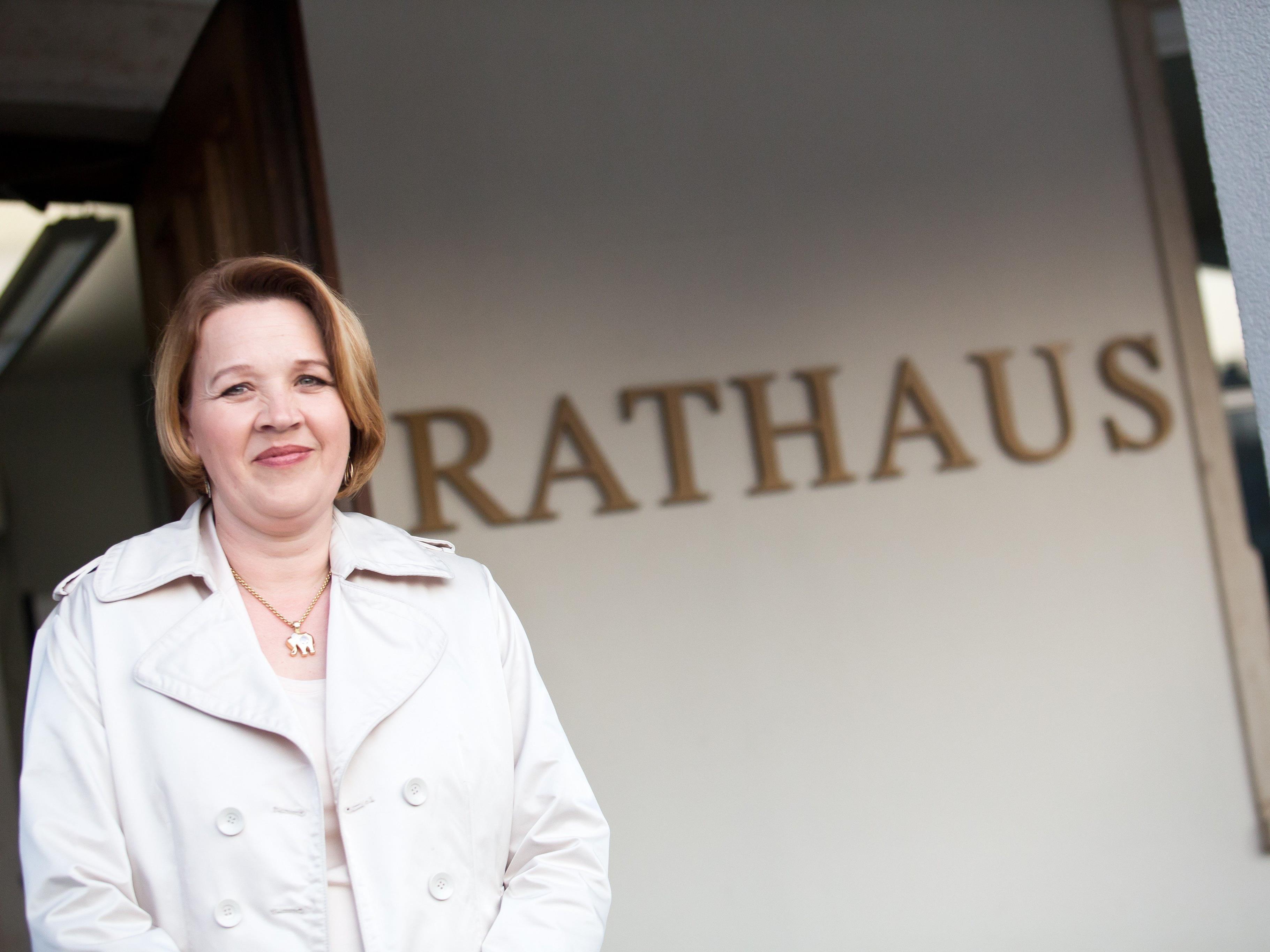 Andrea Kaufmann ist eine der wenigen Bürgermeisterinnen in Vorarlberg.