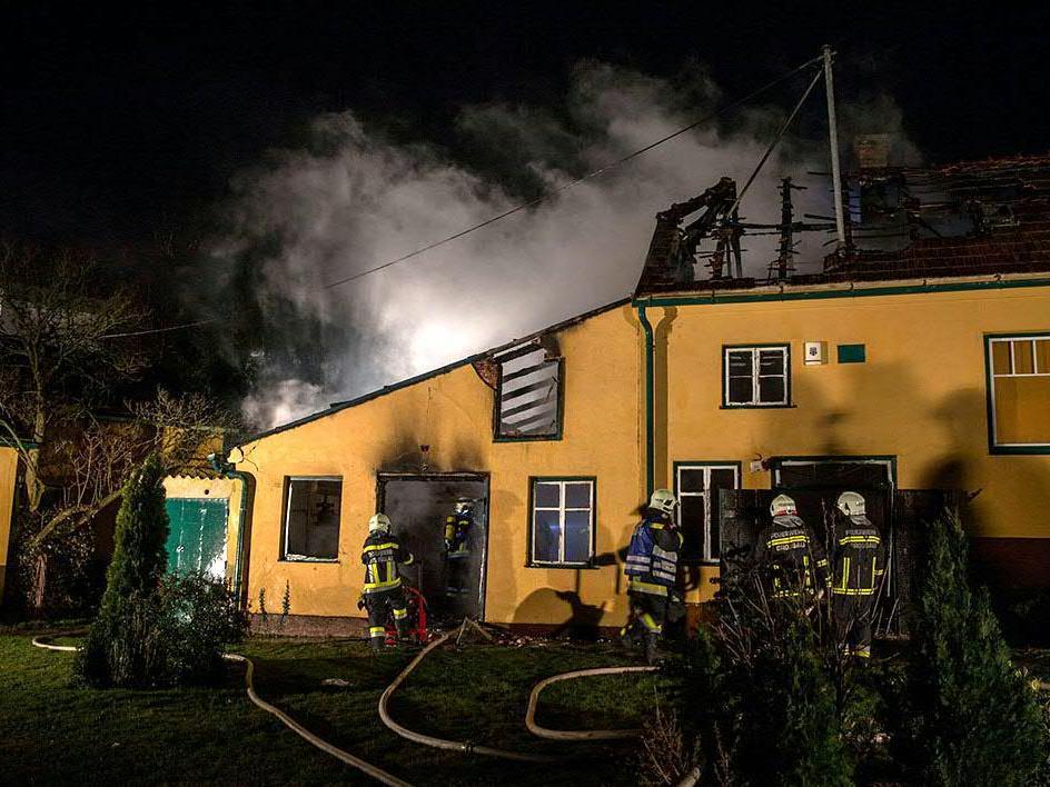 Nächtlicher Wohnhausbrand in Bad Vöslau