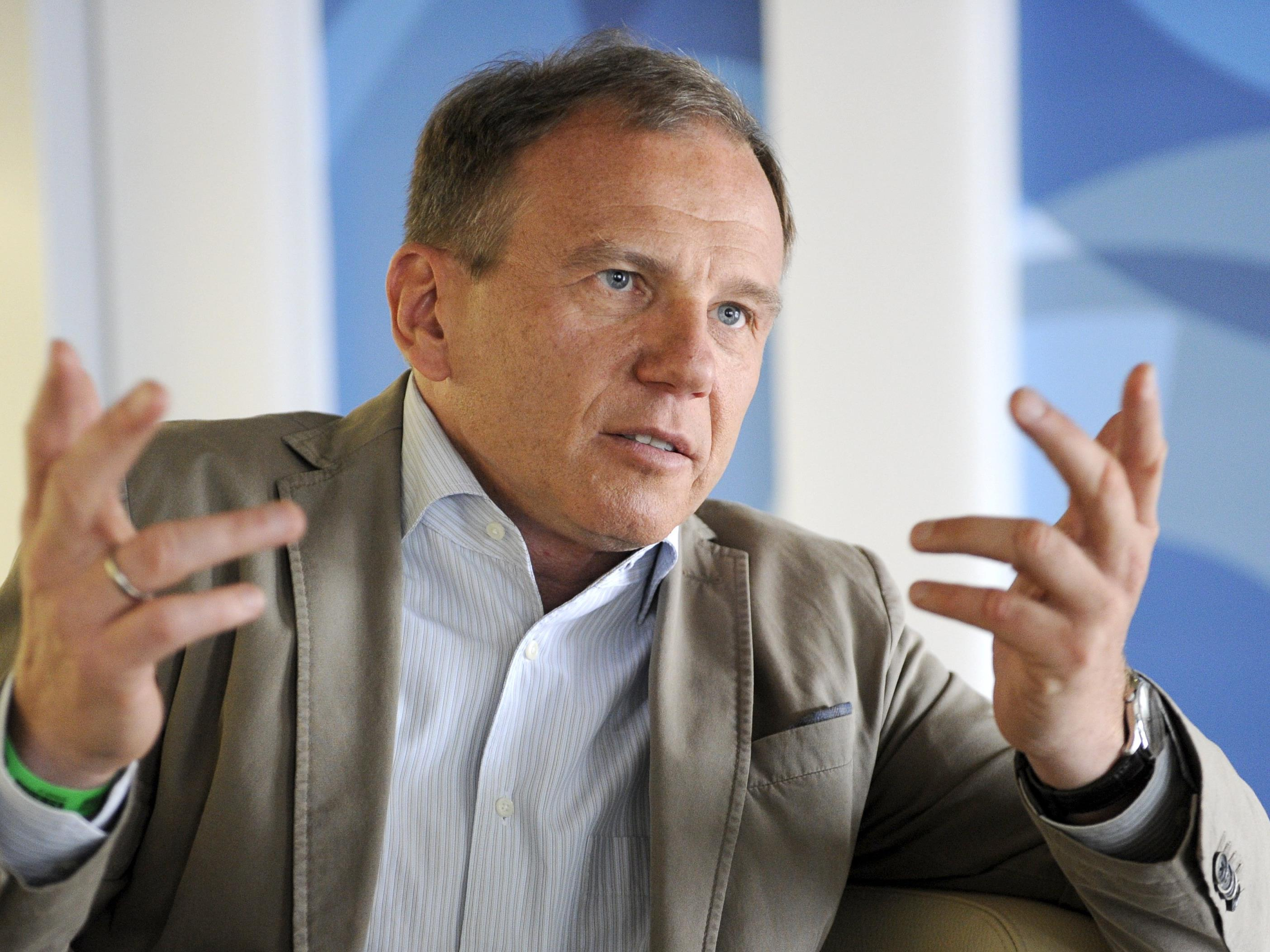 Starjournalist Armin Wolf war einer der Diskussionsteilnehmer.