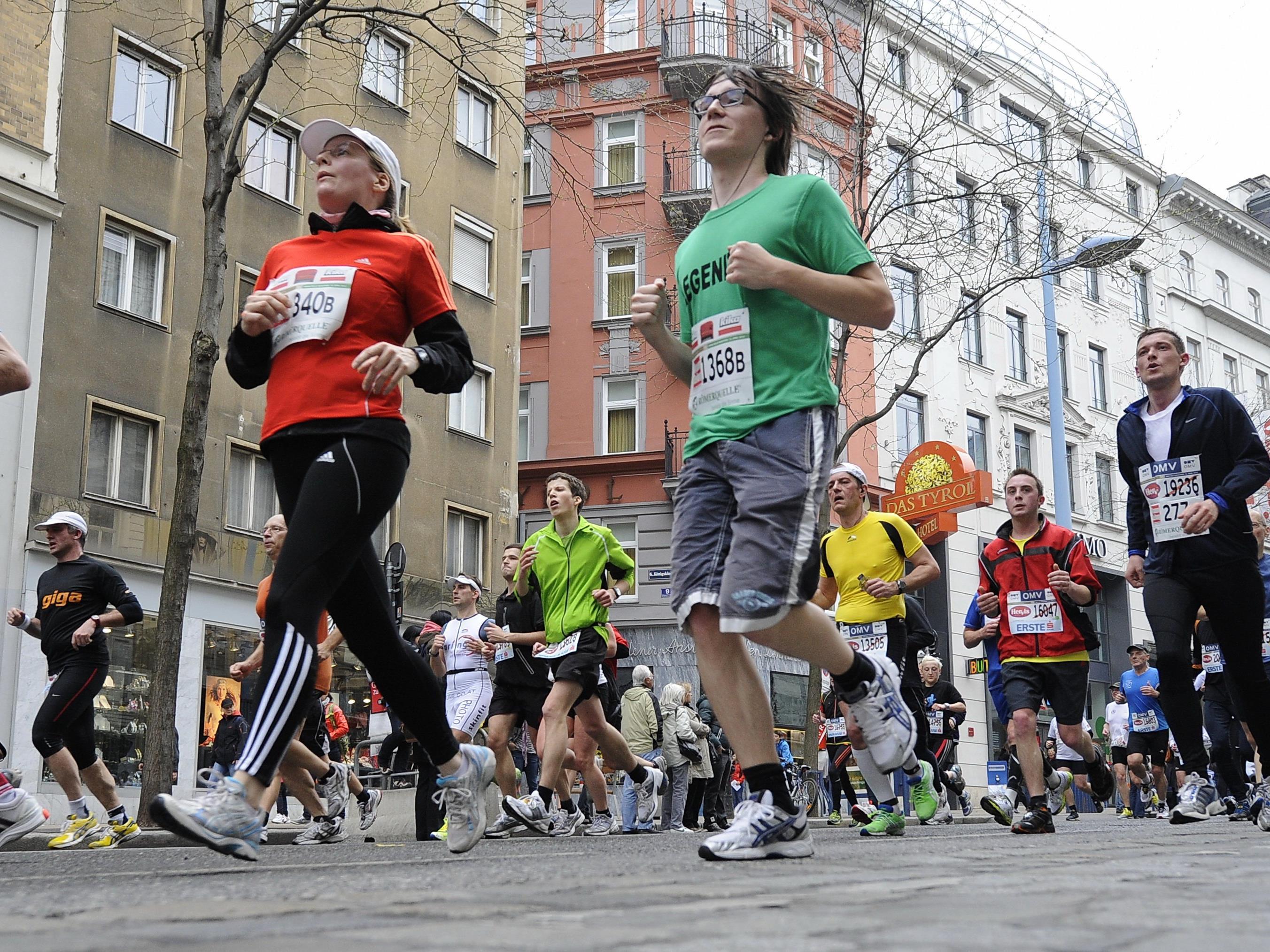 """Das Motto zum Vienna City Marathon 2016 lautet """"Theater der Emotionen""""."""
