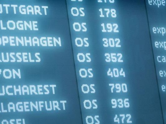 Auch am Donnerstag streicht die AUA alle Flüge nach Brüssel.