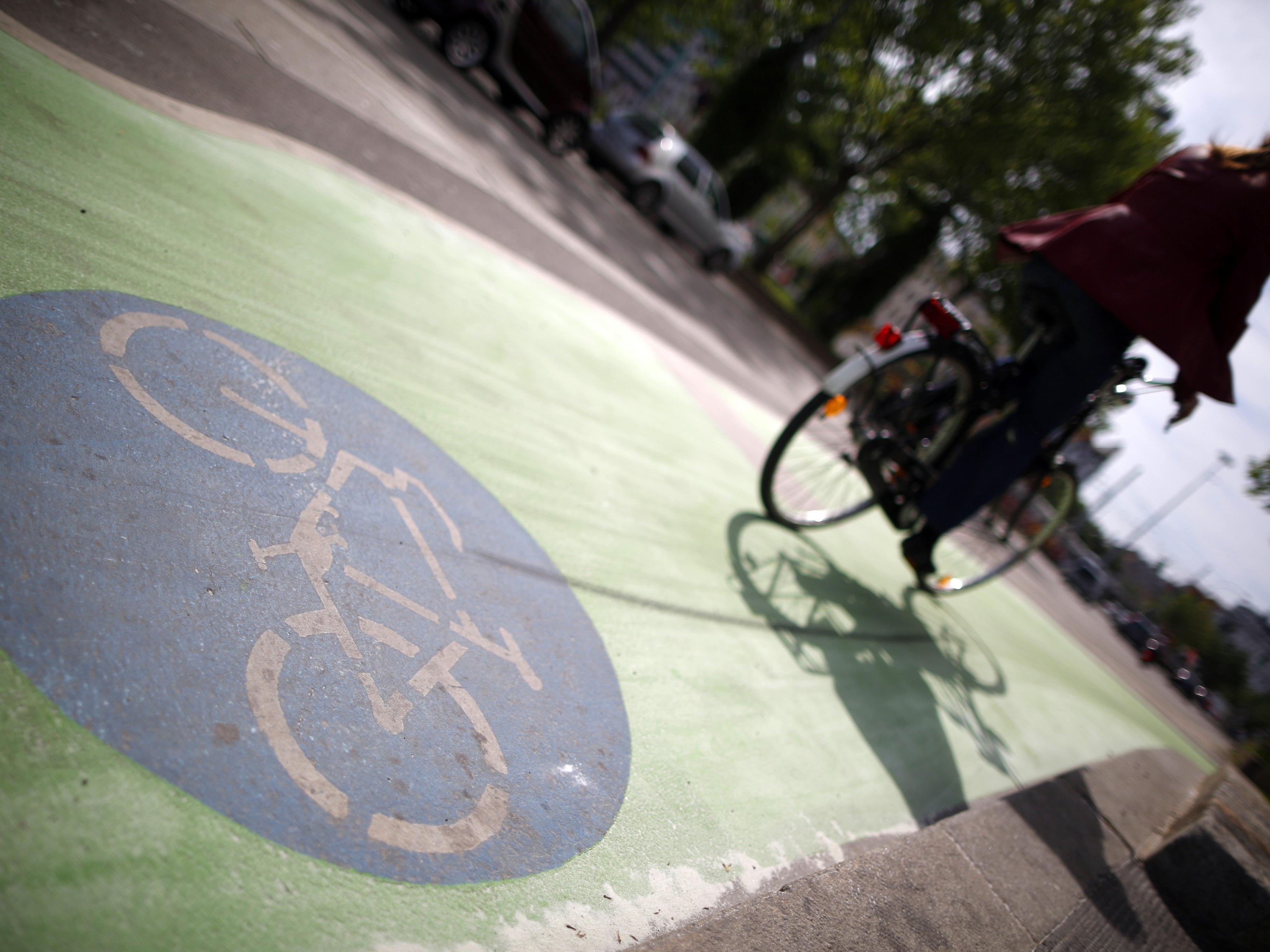 2016 wird das Radnetz in Wien um 20 Kilometer ausgebaut.