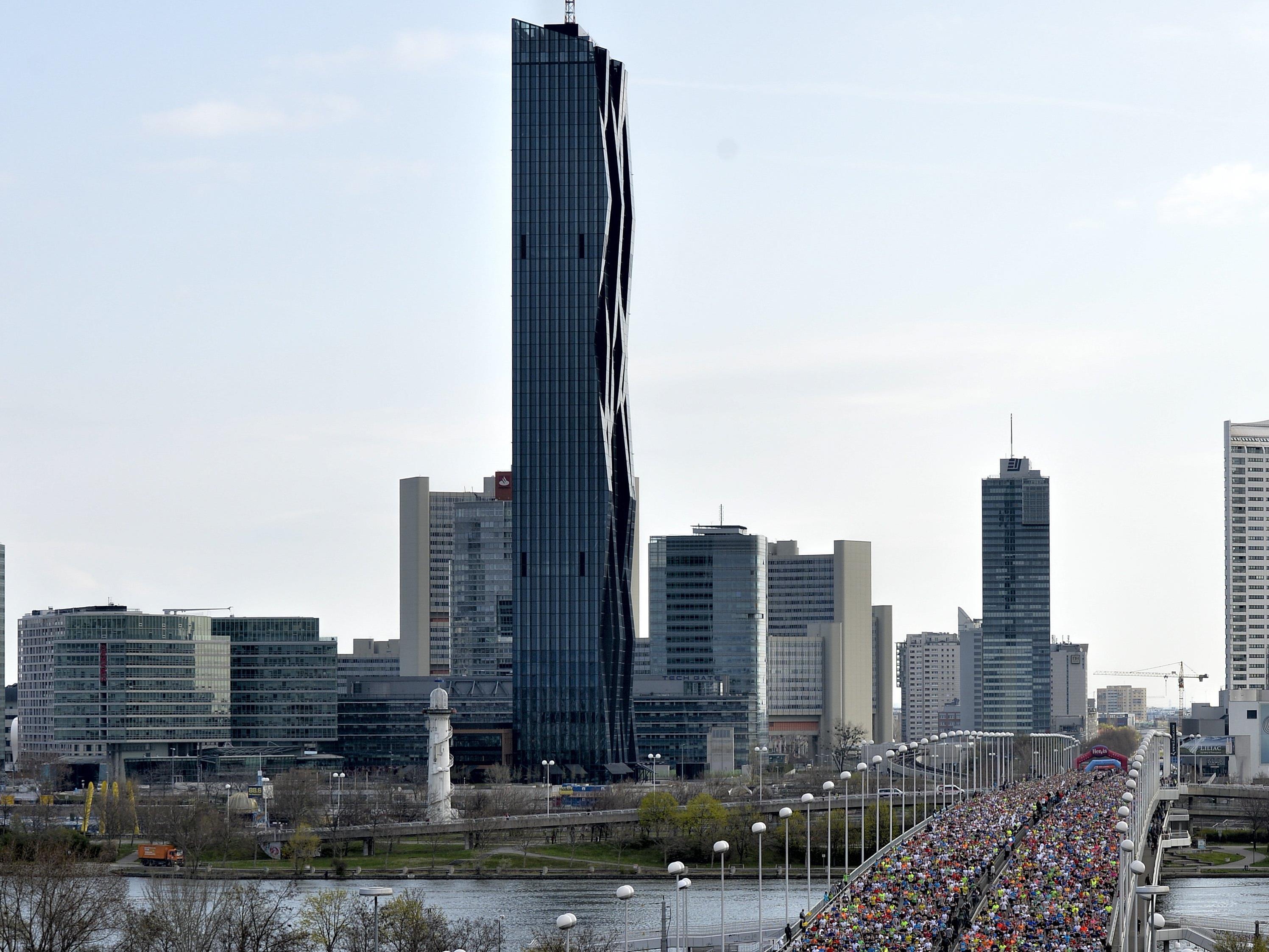 Wien-Marathon-Veranstalter hoffen auf eine Sieger-Zeit von unter 2:06 Stunden.