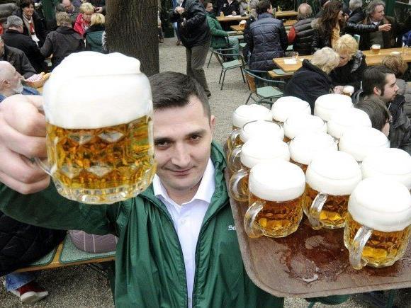 Die Bier-Nachfrage in Österreich stieg im vergangenen Jahr.