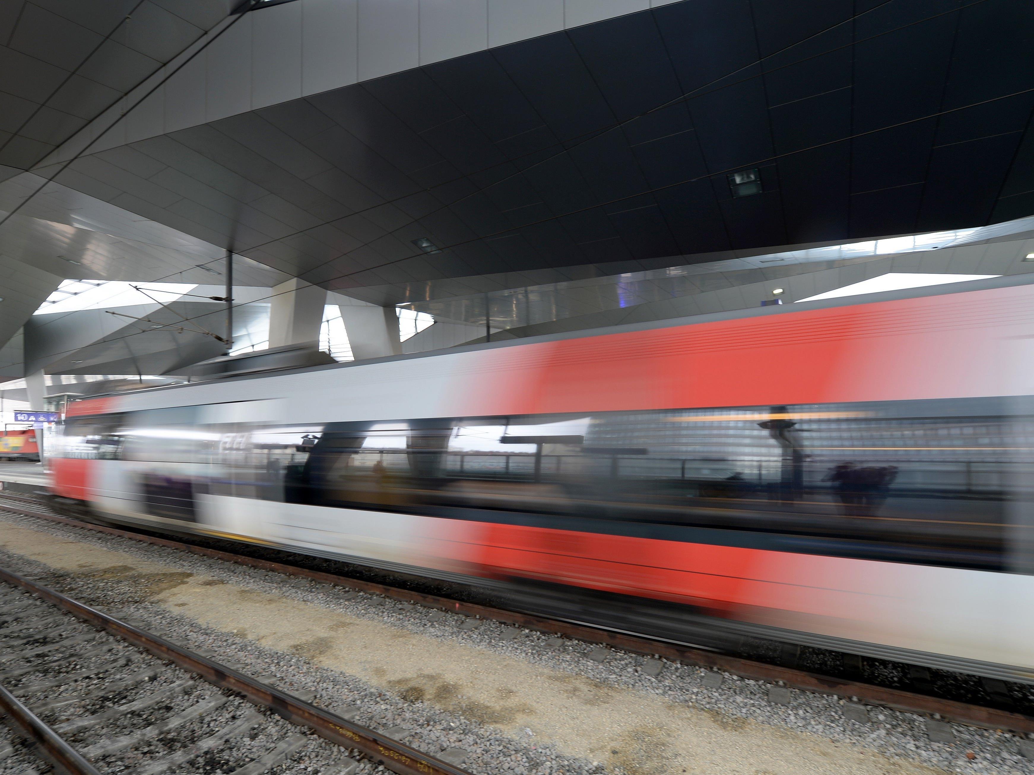 Die Zugroute Budapest-Wien wird kaum noch von Flüchtlingen frequentiert.