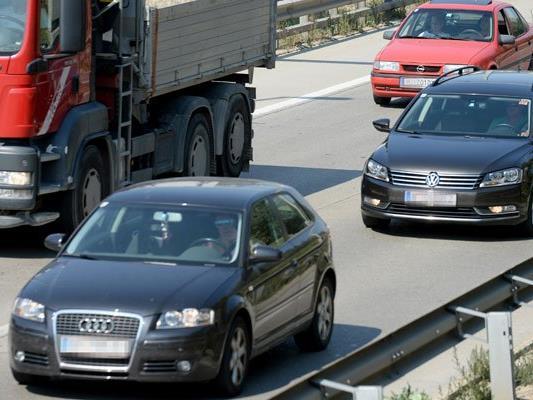 Auf der Ostautobahn müssen sich die Autofahrer auf Bauarbeiten einstellen.