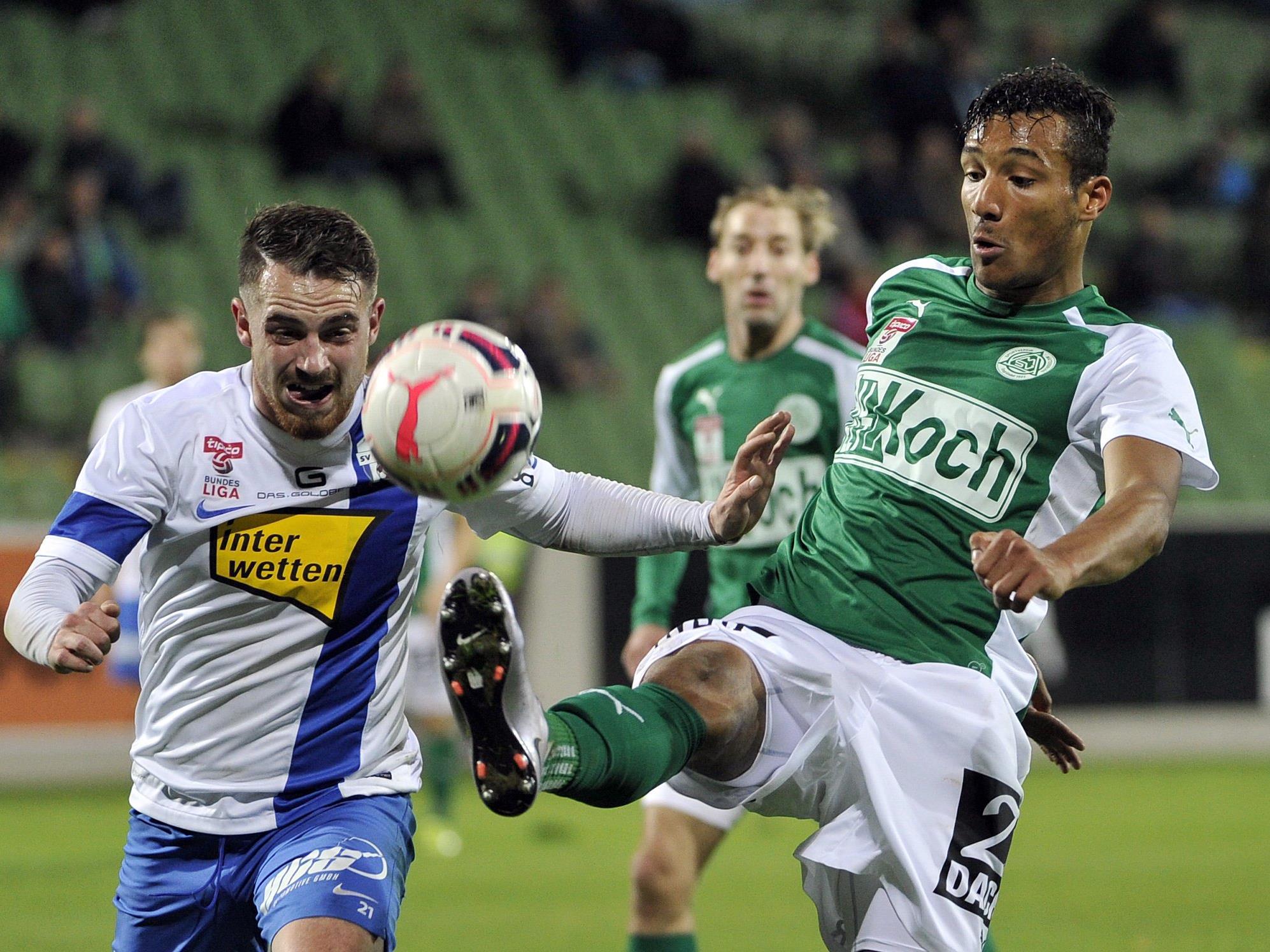 LIVE-Ticker zum Spiel SV Grödig gegen SV Mattersburg ab 18.30 Uhr.