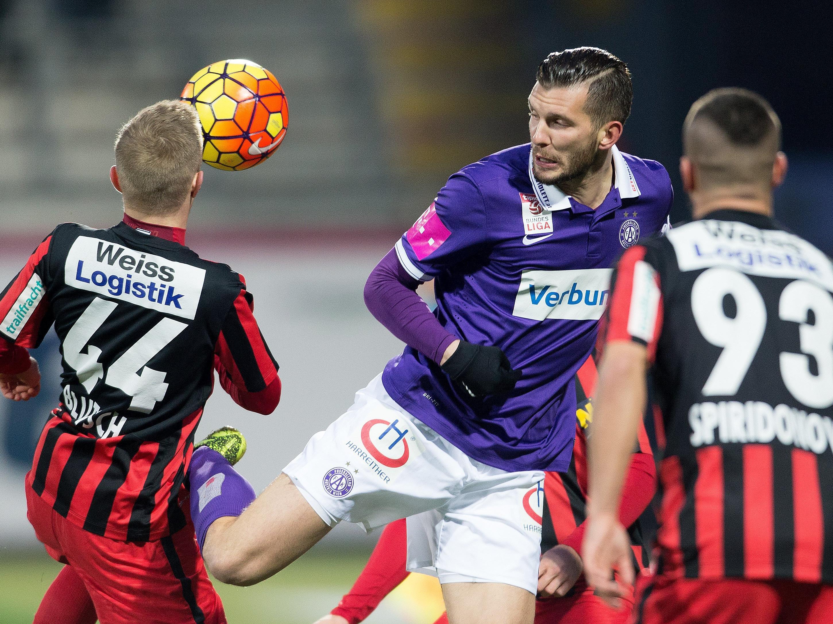 LIVE-Ticker zum Spiel FC Admira Wacker Mödling gegen FK Austria Wien ab 18.30 Uhr.