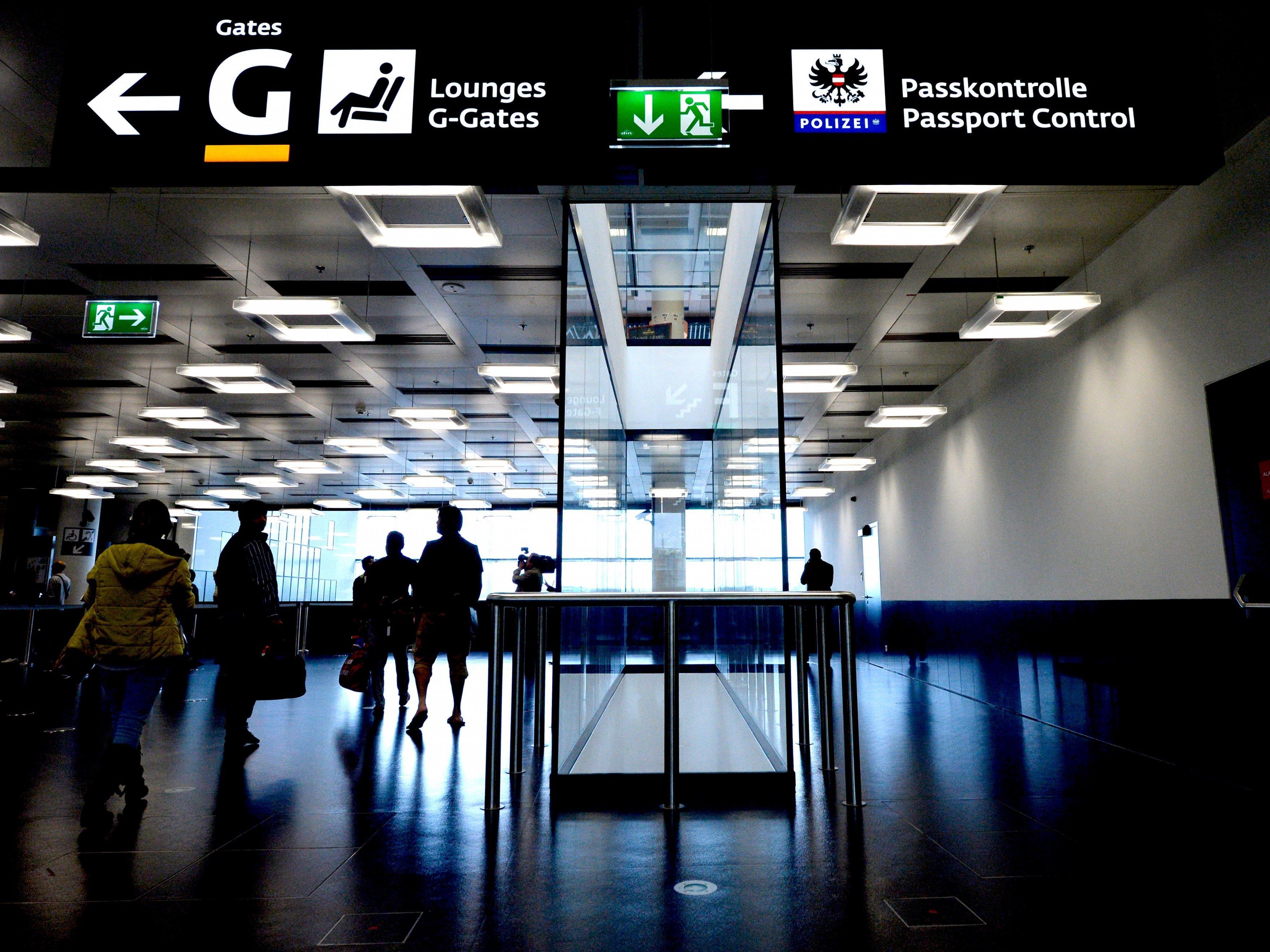 Ein Flug von Wien nach London wurde nach dem Alarm einer Passagierin gestoppt.