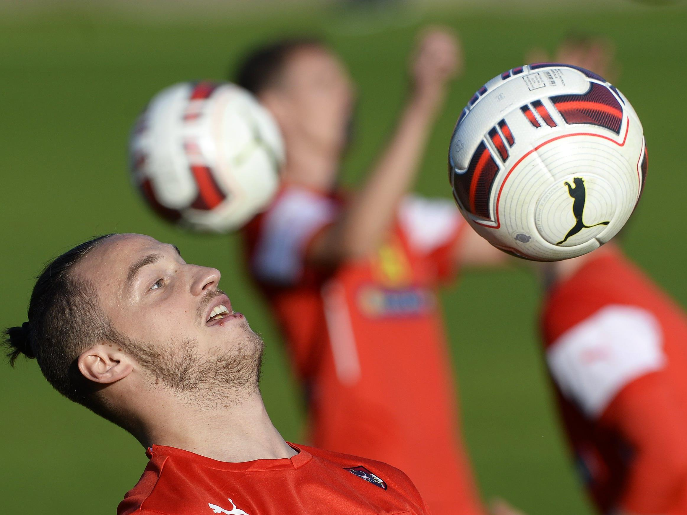 Marko Arnautović und Co. werden sich den Feinschliff für die EURO 2016 in der Schweiz holen.