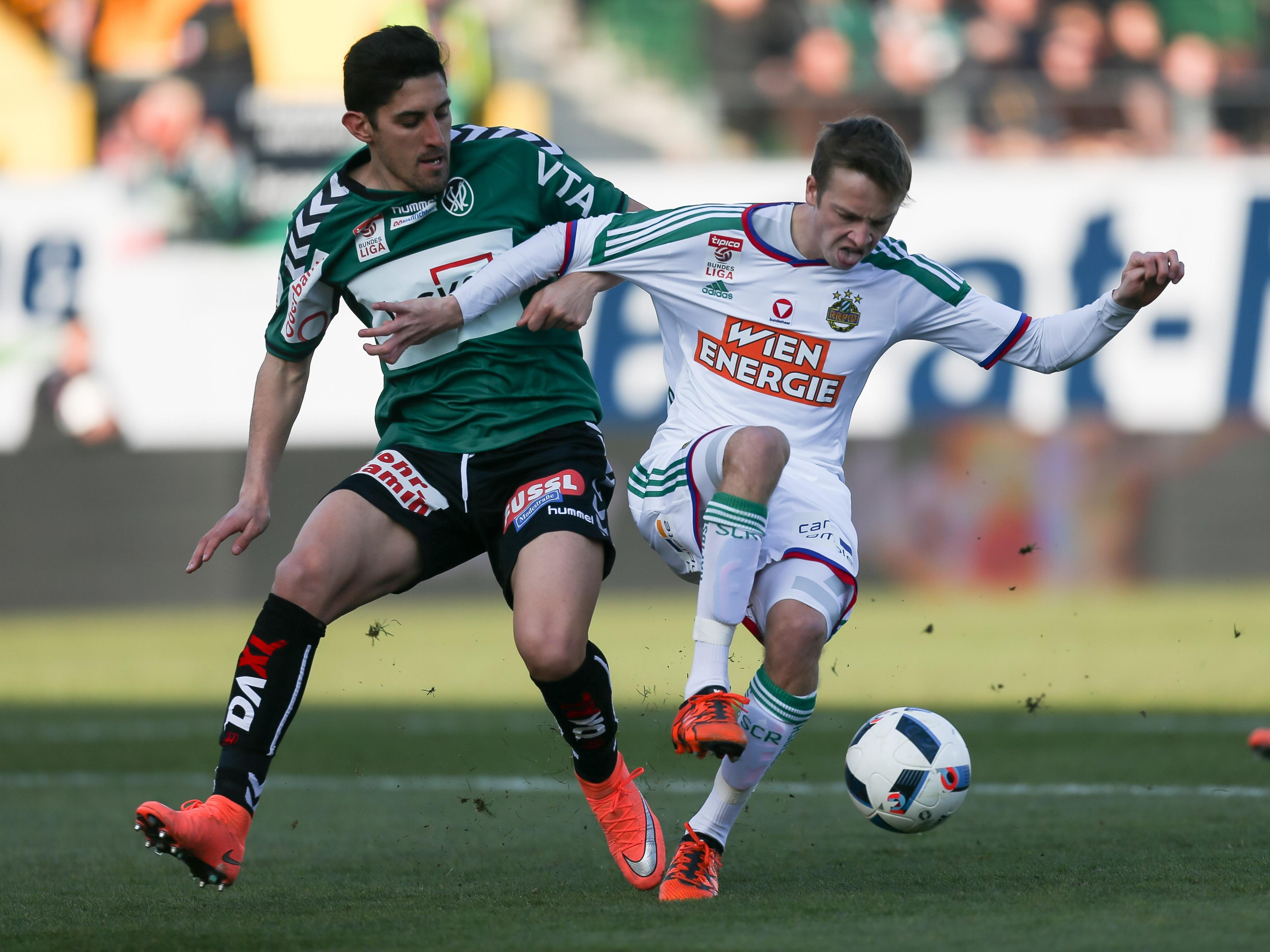 Rapid kassierte in Ried die zweite Bundesliga-Niederlage in Serie.