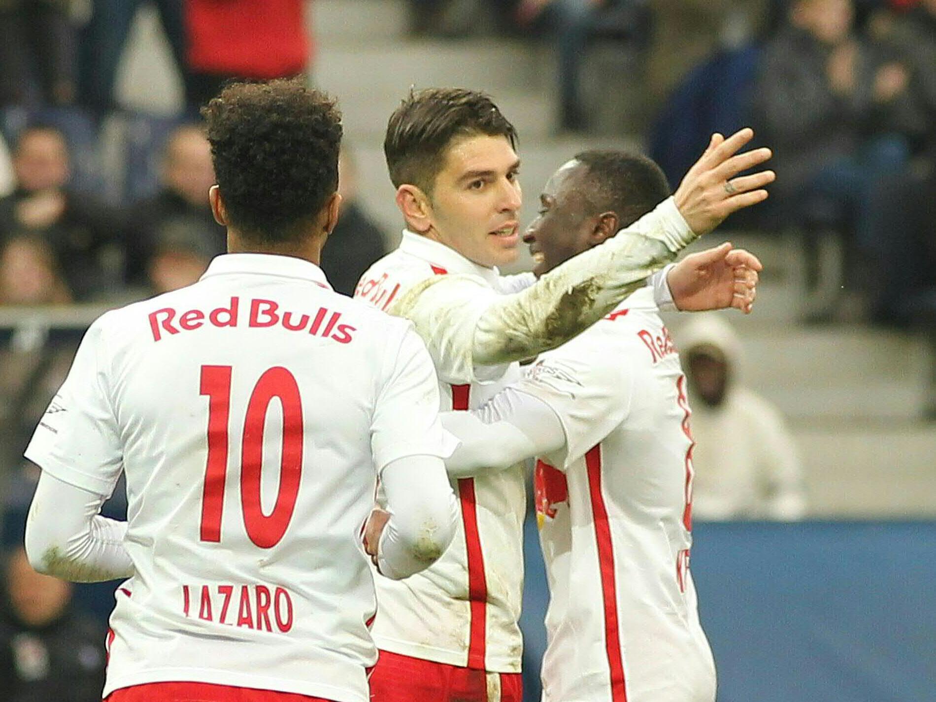 LIVE-Ticker zum Spiel Red Bull Salzburg gegen SV Grödig ab 16.00 Uhr.