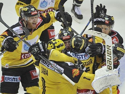 Die Vienna Capitals durften sich über einen Sieg freuen