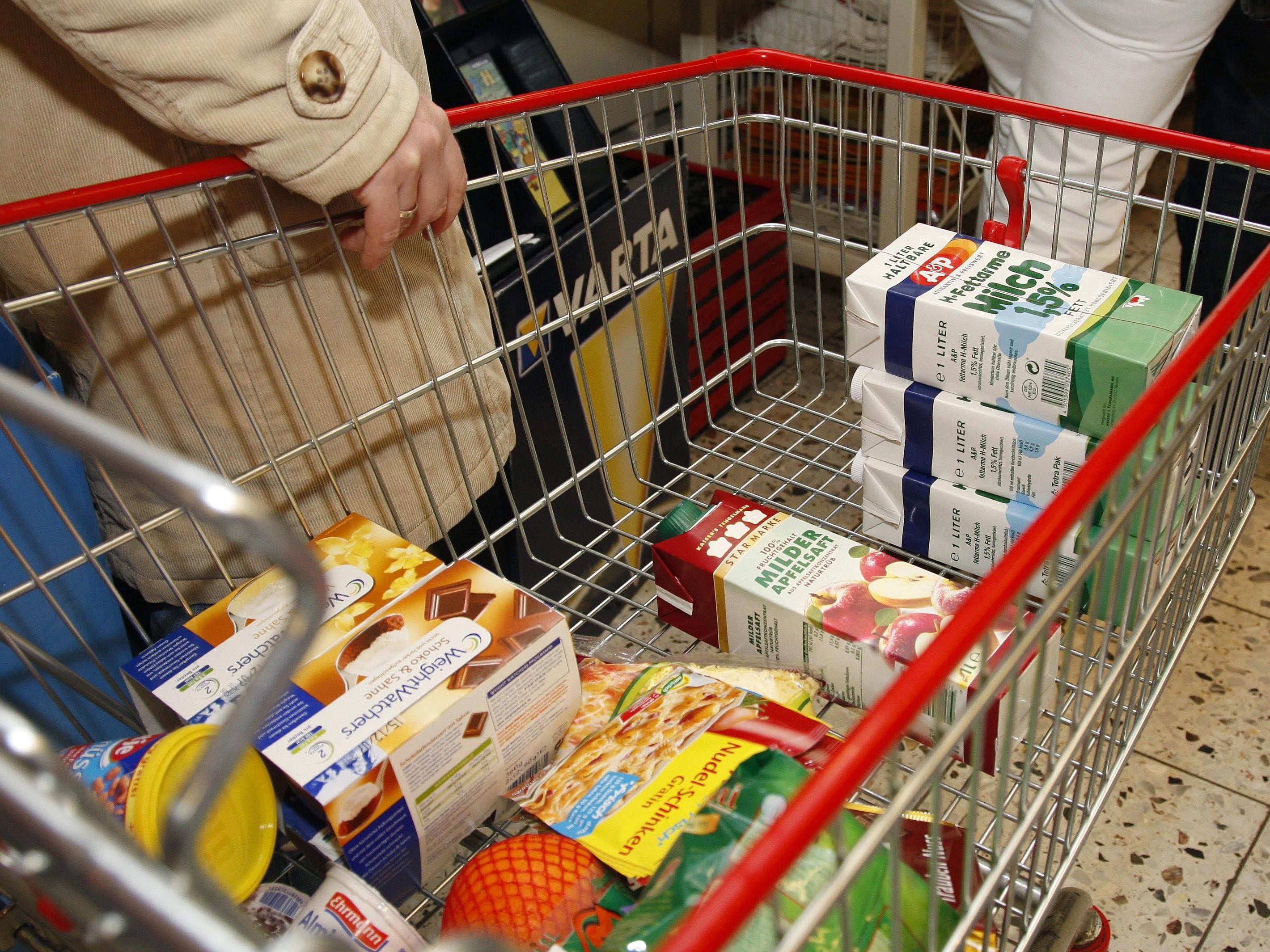 """Die Arbeiterkammer spricht von einem """"Österreich-Aufschlag"""" bei Lebensmittel."""