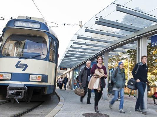 Die Badner Bahn konnte wieder einen Fahrgastrekord verzeichnen.