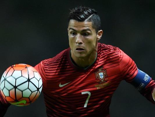 Cristiano Ronaldo und Co. werden gegen England testen.