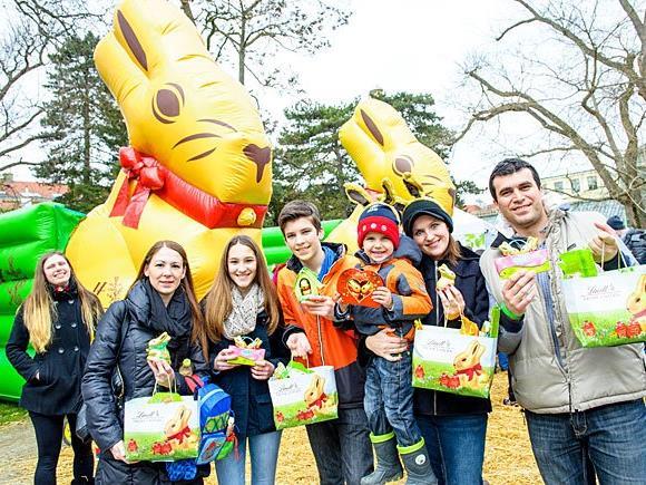 Die größte Osterhasensuche Österreichs findet auch heuer wieder in Schönbrunn statt