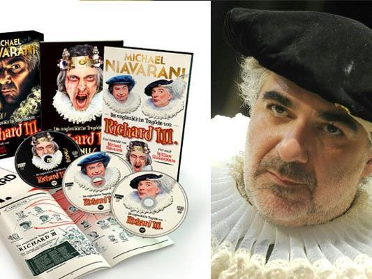 """Michael Niavaranis """"Die unglaubliche Tragödie von Richard III."""""""