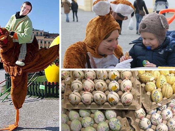 Die Wiener Ostermärkte haben auch 2016 zahlreiche Highlights zu bieten