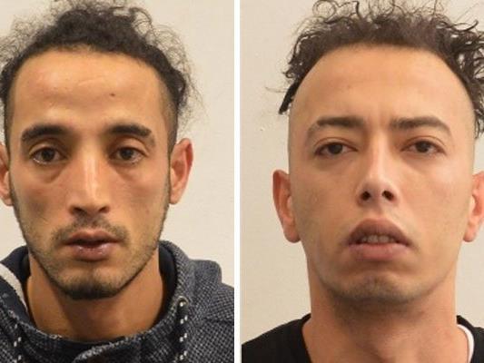 Diese beiden Männer wurden gefasst - gibt es weitere Opfer der mutmaßlichen Räuber?