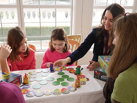 Beim Spielefest auf Schloss Hof wird der gemeinsame Spaß groß geschrieben