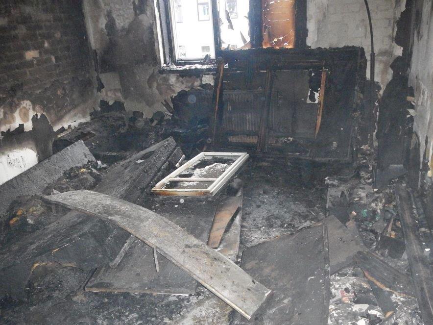 Nach dem Zimmerbrand in Wien-Ottakring.