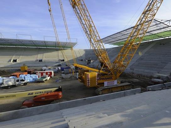 Neues Allianz-Stadion für Rapid dank frischem Kapital.