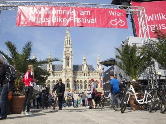 Das ARGUS Bikefestival gastiert wieder in Wien.