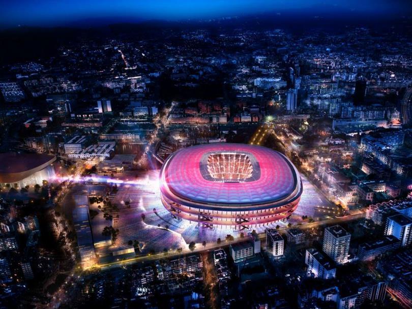 Der FC Barcelona vergrößert sein Stadion. Ab 2017 beginnt der Umbau des Camp Nou.