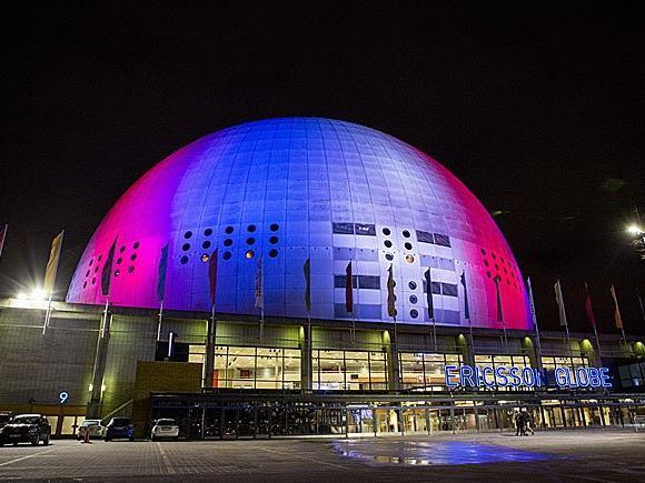 In der Ericsson Globe Arena in Stockholm wird der ESC 2016 ausgetragen