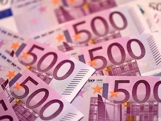 Geschäft mit falschen 500-Euro-Scheinen.
