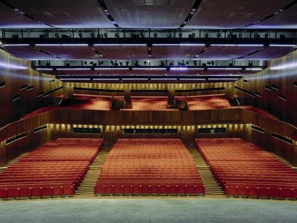 Großer Saal im Festspielhaus Bregenz