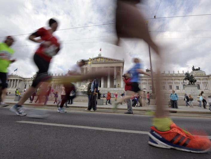 Der Vienna City Marathon geht wieder an den Start.