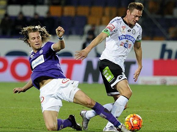 FK Austria Wien und SK Puntigamer Sturm Graz treffen am Sonntag aufeinander