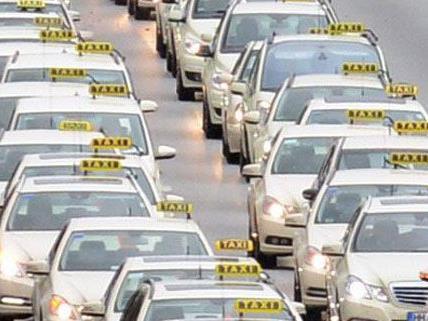Bis zu 300 Taxis werden zur Demo am Ring erwartet