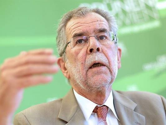 Harte Worte von Van der Bellen Richtung SPÖ.