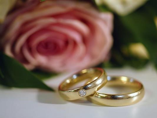 Im September wird derzeit bevorzugt geheiratet.